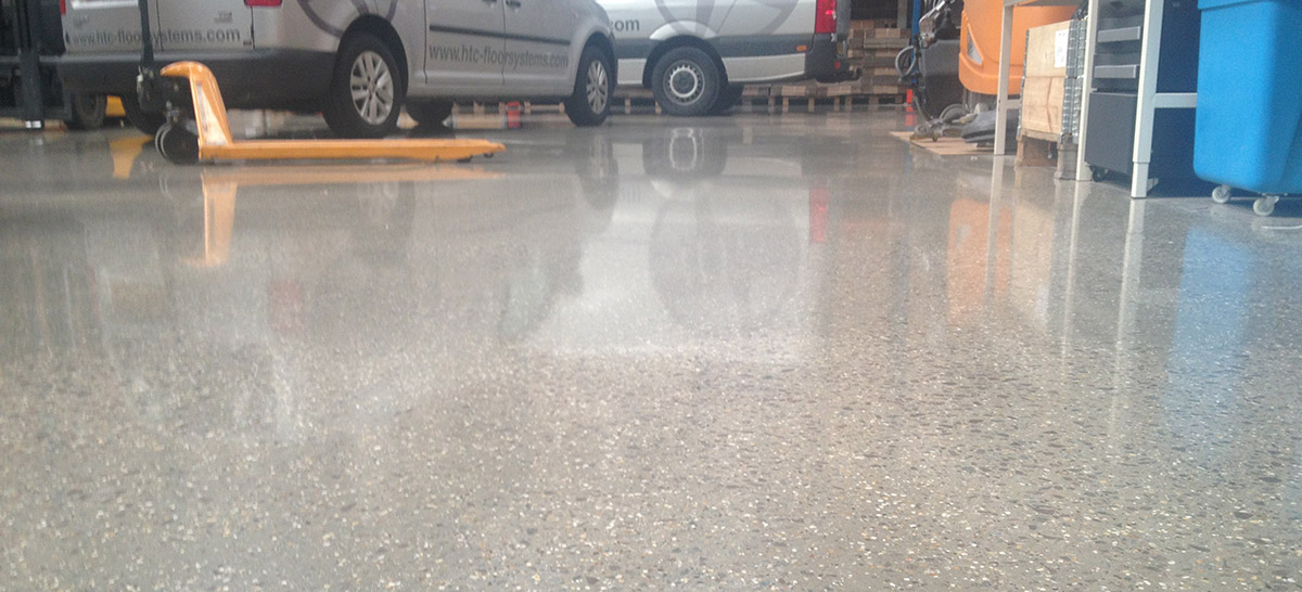Polished concrete from renobuild for Caring for polished concrete floors